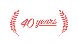Oil Gard 40th Anniversary emblem, London Ontario